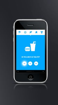 Healthy - Mobile interface design UI UX