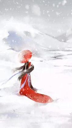 Chinese Painting, Chinese Art, Anime Wallpaper Live, Painting Of Girl, Live Wallpapers, Ancient Art, Asian Art, Japanese Art, Photo Art