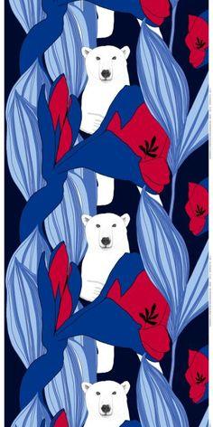 Nanuk Marimekko fabric- hilarious! and so cute