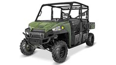 New 2016 Polaris Ranger Crew® XP 900-6 ATVs For Sale in North Carolina. Sage Green Off-Road Capability for the Entire Crew Powerful 68 HP ProStar® HO engine features 13% more power Refined Cab Comfort and Convinence for 6, Including Industry Exclusive Pro-Fit Integration