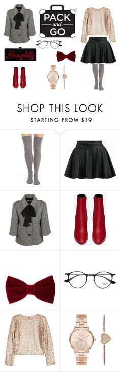 """CuteToKill"" by laura-biofa on Polyvore featuring moda, Natori, Yves Saint Laurent, Ray-Ban, Alice + Olivia, Michael Kors e Edie Parker"