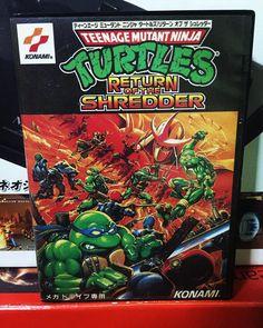 "By ludlum_vince: TMNT "" Return of the shredder. One of my favourite Sega Mega Drive game ever  .  #ReturnOfShredder #TeenageMutantNinjaTurtles #TheHyperstoneHeist #Sega  #メガドライブ  #Konami  #segamegadrive #segacollection #segacollective #Genesis #MegaDrive #16bits  #16bit #retrogames #retroliberty #retrosega #cuzsega #cib #igerssega  #ludlumV #segagenesis #segamegadrive #microhobbit"