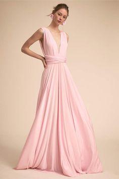 d0f61512892 Twobirds Ginger Convertible Maxi Dress Anthropologie Wedding