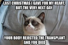 Last Christmas I gave you my heart...