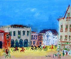 Jean Dufy - Cintra, Portugal, oil on canvas