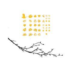 Un air de printemps Stickers, Decoration, Air, Spring, Decor, Sticker, Decorating, Decorations, Dekoration