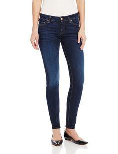 7 For All Mankind Women's Skinny Jean in La Verna Lake