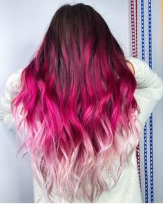 The most beautiful ideas for purple hair!- The most beautiful ideas for purple hair! Cute Hair Colors, Hair Dye Colors, Cool Hair Color, Unique Hair Color, Hair Color For Women, Purple Hair, Ombre Hair, Hair Color Pink, Pulp Riot Hair Color