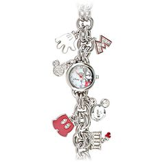 Icon Charms Mickey Mouse Watch I want this watch so bad! Mickey Love, Mickey Mouse Watch, Mickey Minnie Mouse, Disney Mickey, Mickey Head, Walt Disney, Mickey Mouse Jewelry, Disney Jewelry, Colar Disney