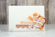 Delicate Details stamp set is perfect for ombre backgrounds ~ Jessica Winter