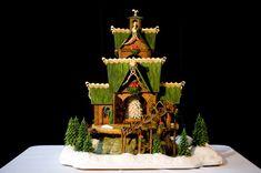 wonderful gingerbread houses!