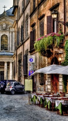 Rome, Italy - It's the cobbled streets that brings back memories.