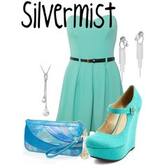 Silvermist, created by sydney-emerson on Polyvore