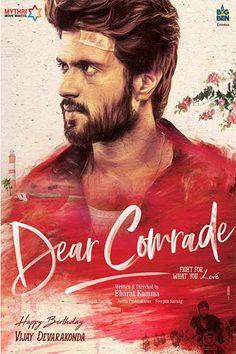 Vijay Devarakonda New Movie 'Dear Comrade First Look' Posters Hd Movies, Movies To Watch, Movies Online, Movie Tv, Romance Movies, Big Ben, Movies 2017 Download, Movie Ringtones, Vijay Actor