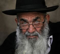 Man From Jerusalem, very expressive face