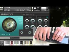 Hang Drum & Halo Drum Software by Soniccouture - Korg Nanopad Demo