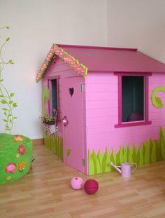 Chambre jardin des fées - cabane