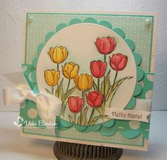 Stampin up, Blessed Easter by Vicki Burdick