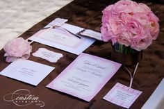 Neapolitan wedding stationery