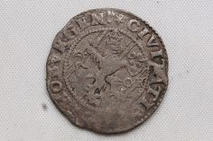 Sweden, King Karl IX, 1 öre, 1611, Göteborg, Silver, VF Condition Rare!!!