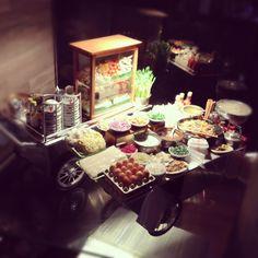 Miniature foods & stalls