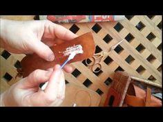Disas Craftwork, Sami Bracelet Tutorial Part 2 Diy Leather Projects, Leather Craft, Sami Bracelet Tutorial, Fun Crafts, Arts And Crafts, Viking Bracelet, Handcrafted Jewelry, Handmade, Bijoux Diy