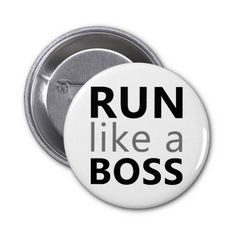 Run Like A Boss Pins