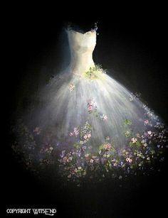 On aimerait avoir cette robe de contes de fée...