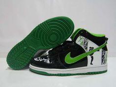 Nike 6.0 Dunk High Dontrelle Willi Black Green