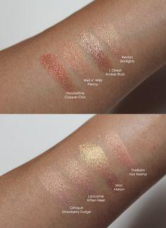 Rose Gold eyeshadows   beautiful Fall color.
