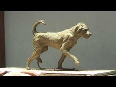'Scout the Dog' - Clay Sculpture Step by Step - K. Barton, artist - YouTube
