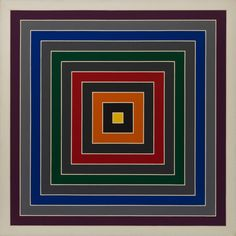 Gray Scramble by Frank Stella, 1968, Guggenheim Museum Solomon R. Guggenheim Foundation Hannelore B. and Rudolph B. Schulhof Collection, bequest of Hannelore B. Schulhof, 2012 © 2016 Frank Stella/Artists Rights Society (ARS), New York Medium: Oil on canvas