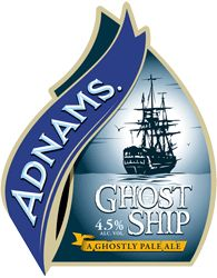 Adnams Ghost Ship  Pale Ale  on tap @ red fox frascati