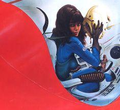 Classic Science-Fiction Illustrators (Part - Jim Burns - Sci-Fi-O-Rama Syd Mead, Most Popular Artists, 70s Sci Fi Art, Beautiful Fantasy Art, Scantily Clad, Sci Fi Books, Science Fiction Art, Character Costumes, Costume Design