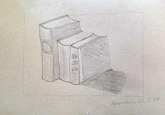 Bücher - Bleistift - Rosemarie