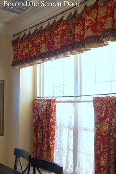 Valance & Cafe Curtains