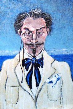 Elstir recalling his first drawing of Odette by David Richardson (http://resemblancetheportraits.blogspot.com)