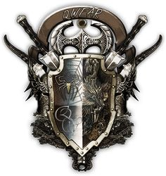 Norse Tattoo, Viking Tattoos, Pathfinder Races, 3d Tattoos, Tattoo Ink, Arm Tattoo, Shoulder Armor Tattoo, Shield Tattoo, Medieval Shields
