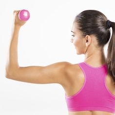 Tone and strengthen your upper body in seven minutes flat using dumbbells, a medicine ball, and your body weight. None of these moves is too complicated, so everyone from beginners to daily gym-goers