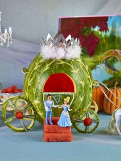 Watermelon Board | Cinderella Carriage. Great site. Click on link for tutorial. http://www.watermelon.org/Carvings/Cinderella-Carriage