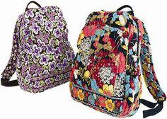 Vera Bradley backpacks #LanceBacktoSchoolCkecklist