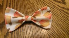 Pink Cherry Cupcakes Bow Clip by SunFlowerFreckles on Etsy using my fabric from Spoonflower :) #PatriciaSheaDesigns