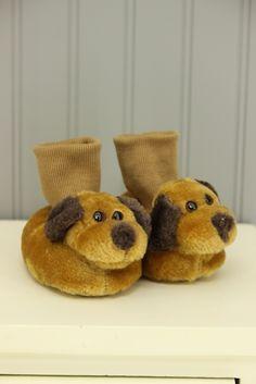 Koala Baby Size 3-6M Puppy Slippers