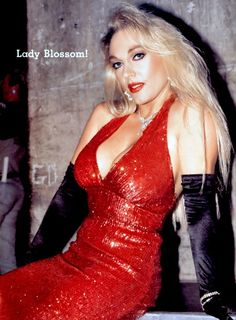 Womens Pro Wrestling: WCW: Jeannie Clark aka Lady Blossom