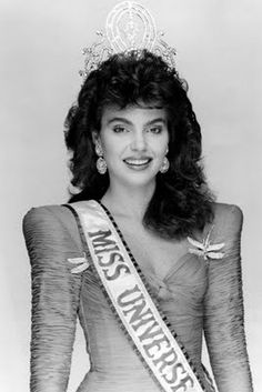 thecrowncompetitors: miss universe 1986