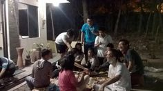 Barbeque Night with members of Ikatan Mahasiswa Buddhist (IKMAB) UNS  #barbeque #buddhist #buddhism #friends #friendship