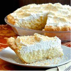 www.3recipes.com: The Absolute Best Coconut Cream Pie
