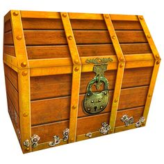 """Use Classroom Chests to hold: ·rewards for achievements ·readers ·manipulatives for learning centers ·special surprises ·wristbands, stickers, and more! Assembled chest measures 9.5"""" x 8"""" x 8.5"""" high."""