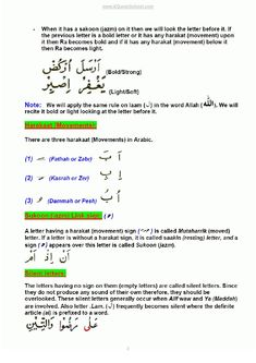 Tajweed Rules -:- Learn Quran with Basic Rules of Tajweed - Learn Bol…