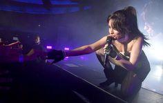 Camila Cabello na Never Be The Same Tour. Pertinho.